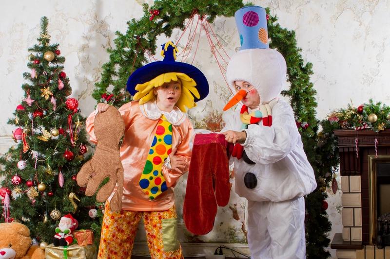 Снеговик и Незнайка